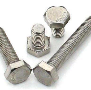 DIN933 šesterokutni vijak A2 70 od nehrđajućeg čelika 304 i 316