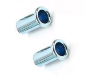 Zakovice za namještaj od pocinkovanog čeličnog čelika od cijevi s glavom u obliku cijevi