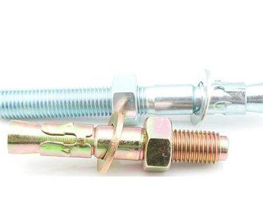 M6 do M20 čelična sidra od pocinčanog čelika